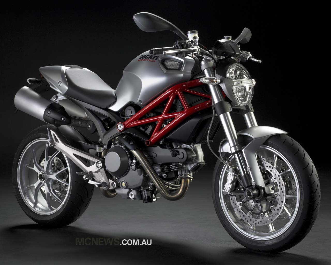 Ducati Monster 1100S Wallpaper Design