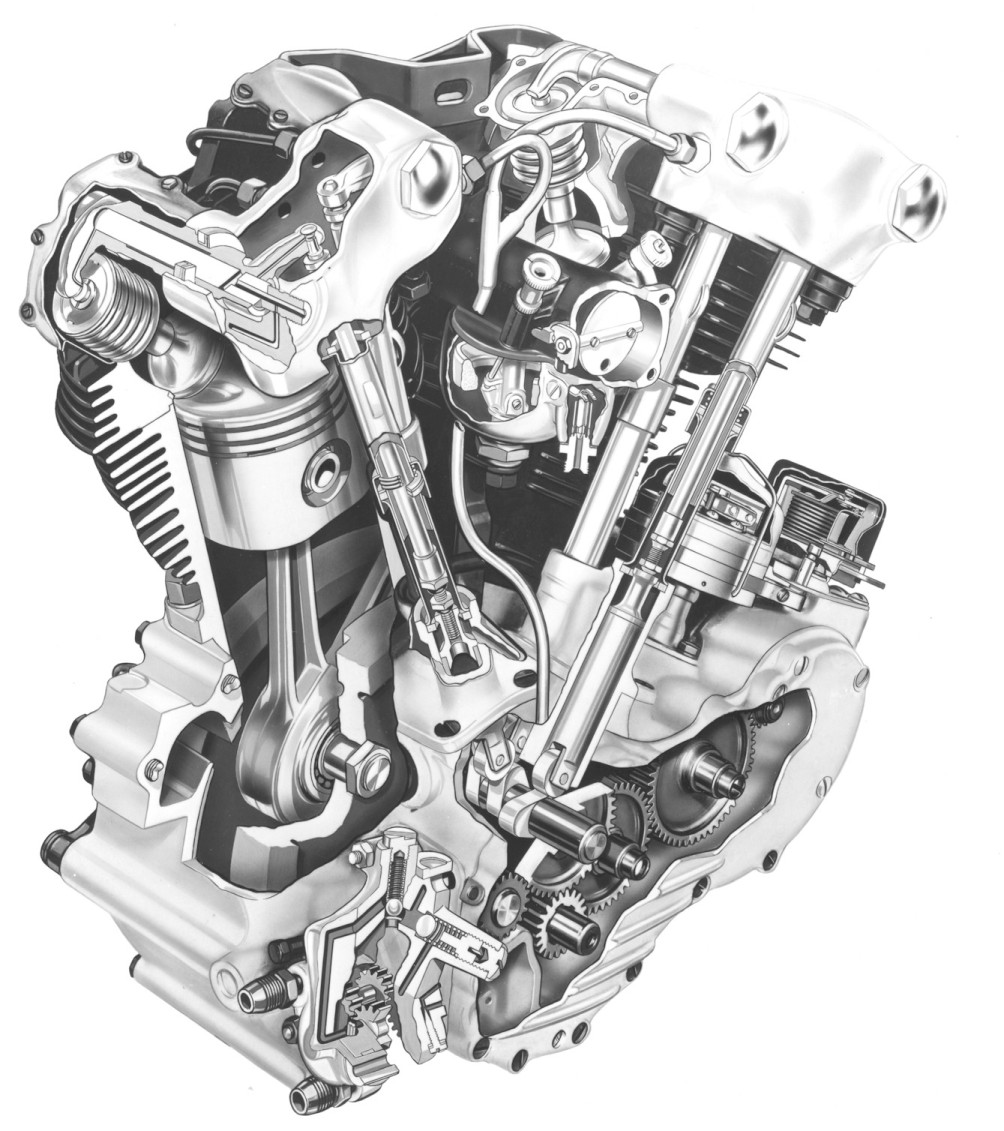 D Great Knucklehead Picture on Shovelhead Engine Diagram