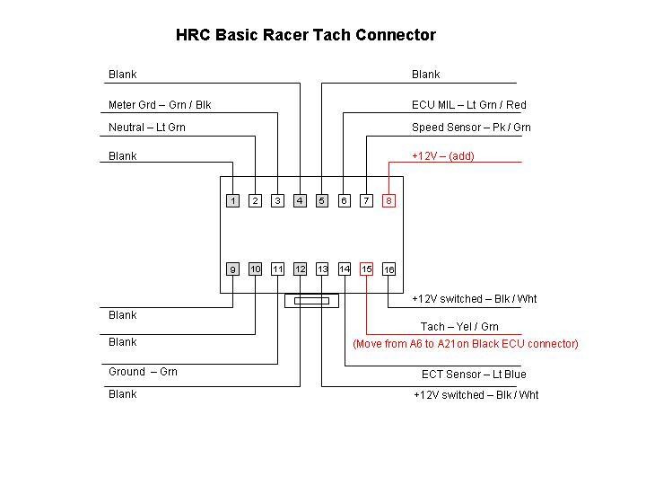 Wire Diagram Honda Rc51