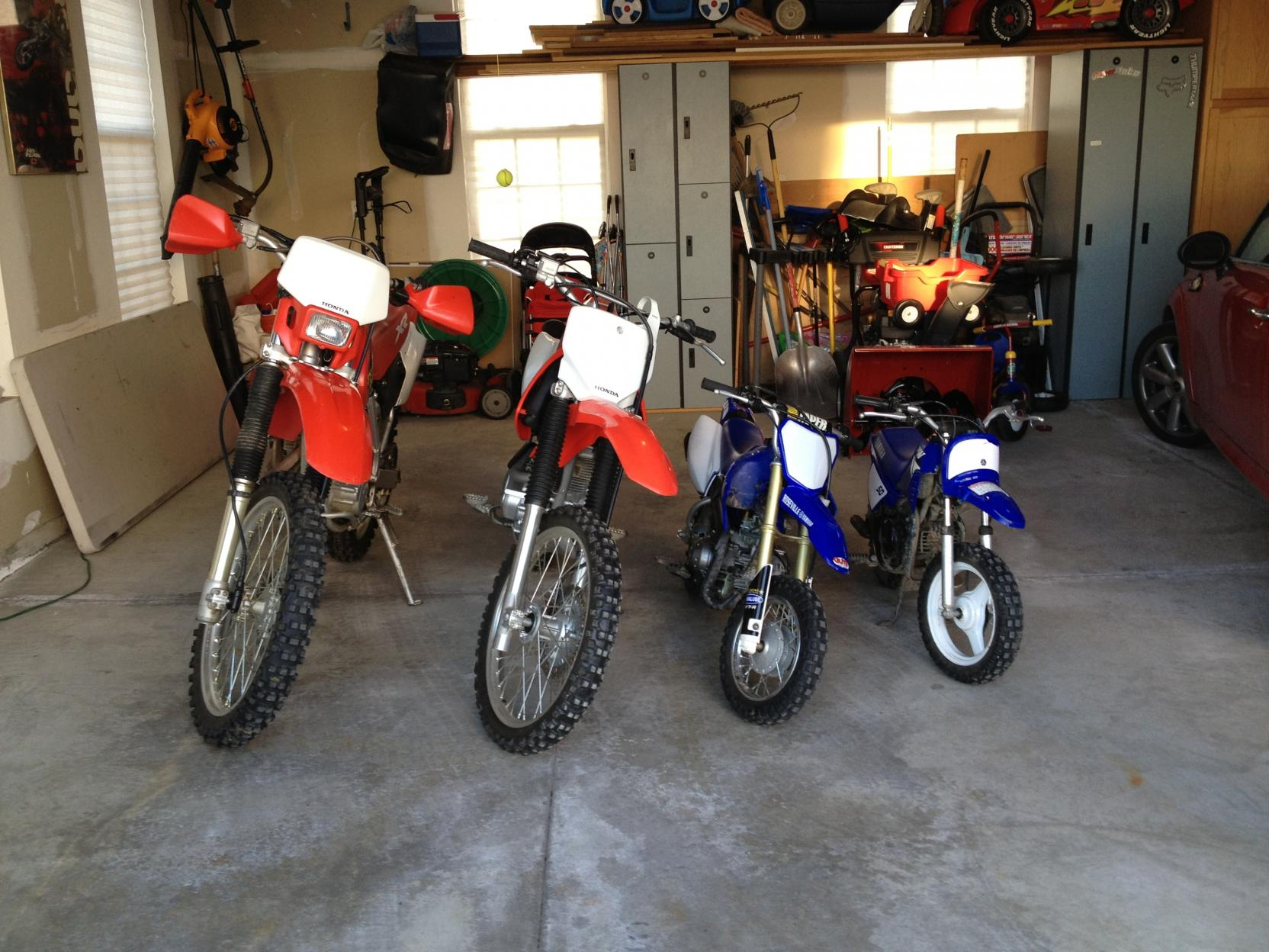 Dirt Bike Sizes For Kids Views Size