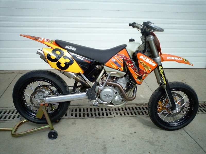 2004 KTM 450 Supermoto for sale (in PA) - Speedzilla Motorcycle Message
