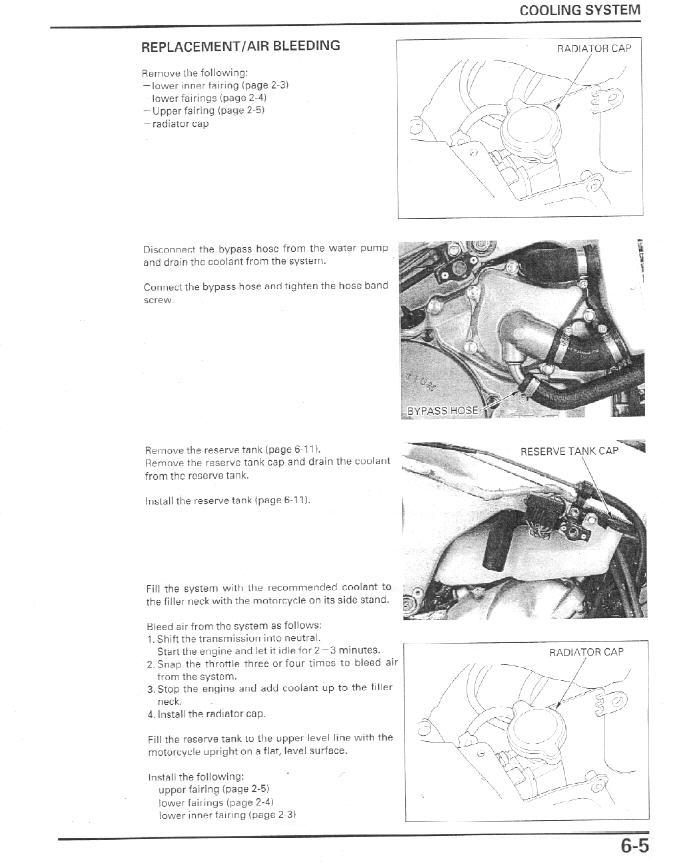 Coolant Flush Speedzilla Motorcycle Message Forums