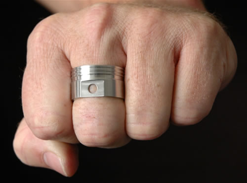 coolest wedding ring ever sdzilla motorcycle message forums - Biker Wedding Rings