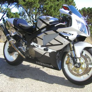 2003 RC51 Silver and Black Attack